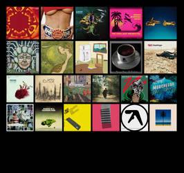 Albums i listened on 2018