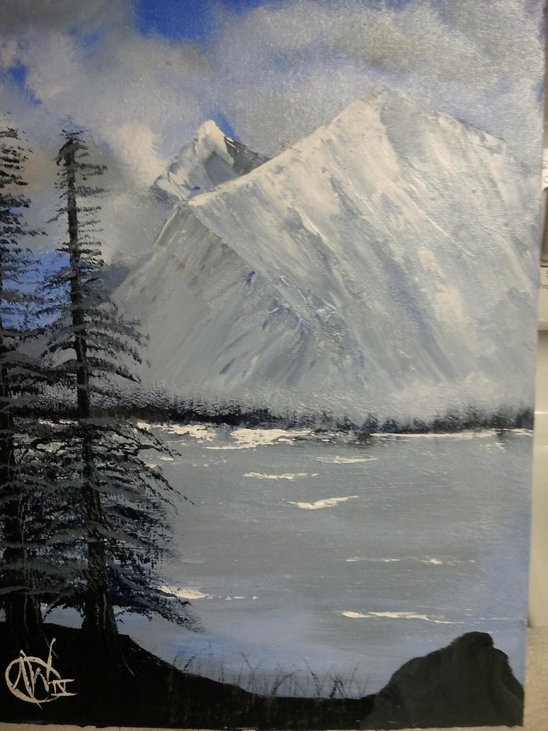 Monochrome Landscape by ACW-IV