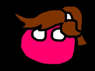 T-T-S PolandBall avatar - Microsoft Mary by DJWEEGEE2000