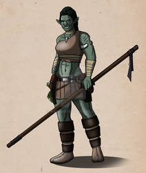 Orctober #2: Orclady