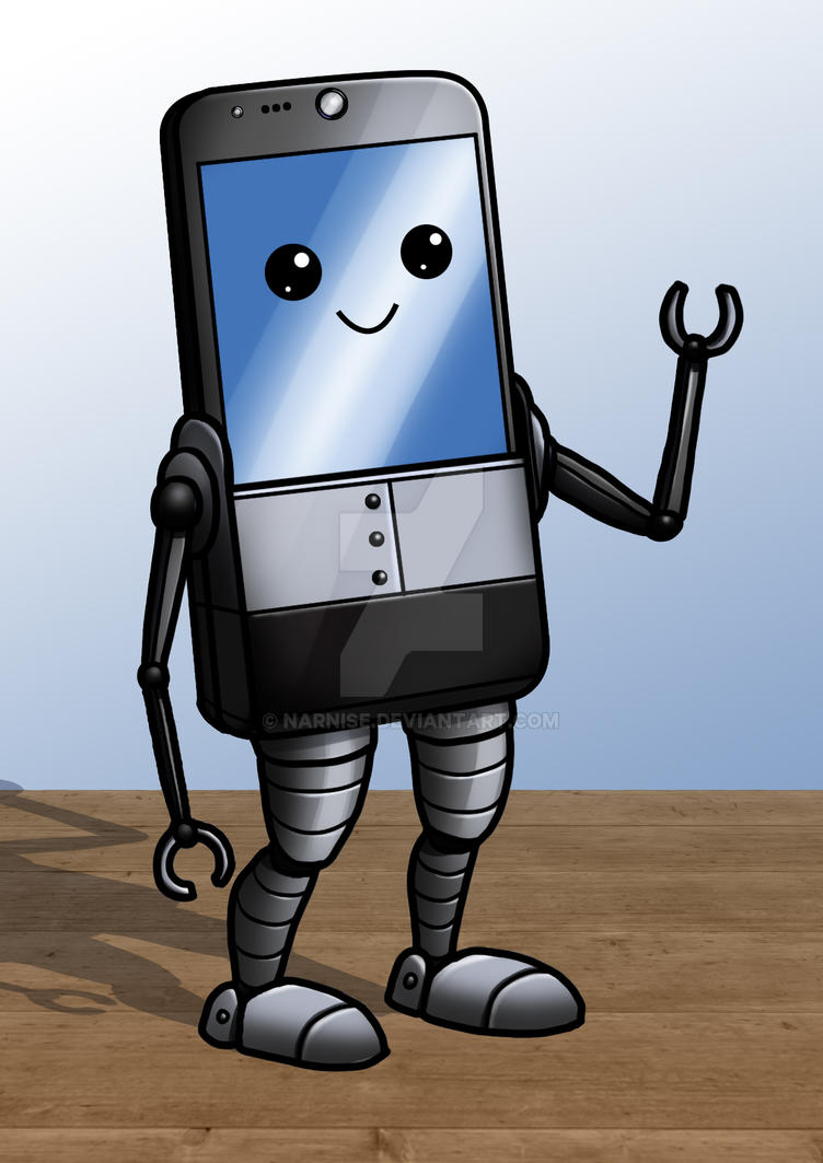 March of Robots #21: Smartbot by Narnise