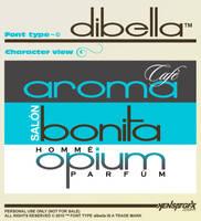 dibella font type by KENSAT