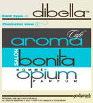 dibella font type