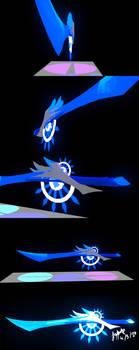 3D Model Assignment : Ice Sword