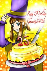 Happy 25th Birthday, Gamewizard-2008!!
