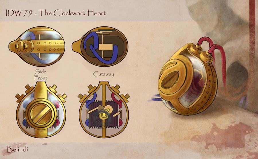 IDW #79: The Clockwork Heart - an IDW/CHOW cross-over event