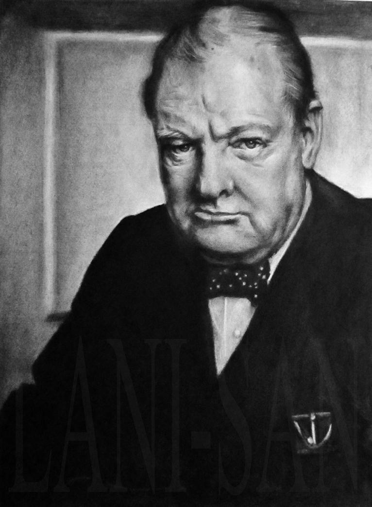Winston Churchill by Lani-San