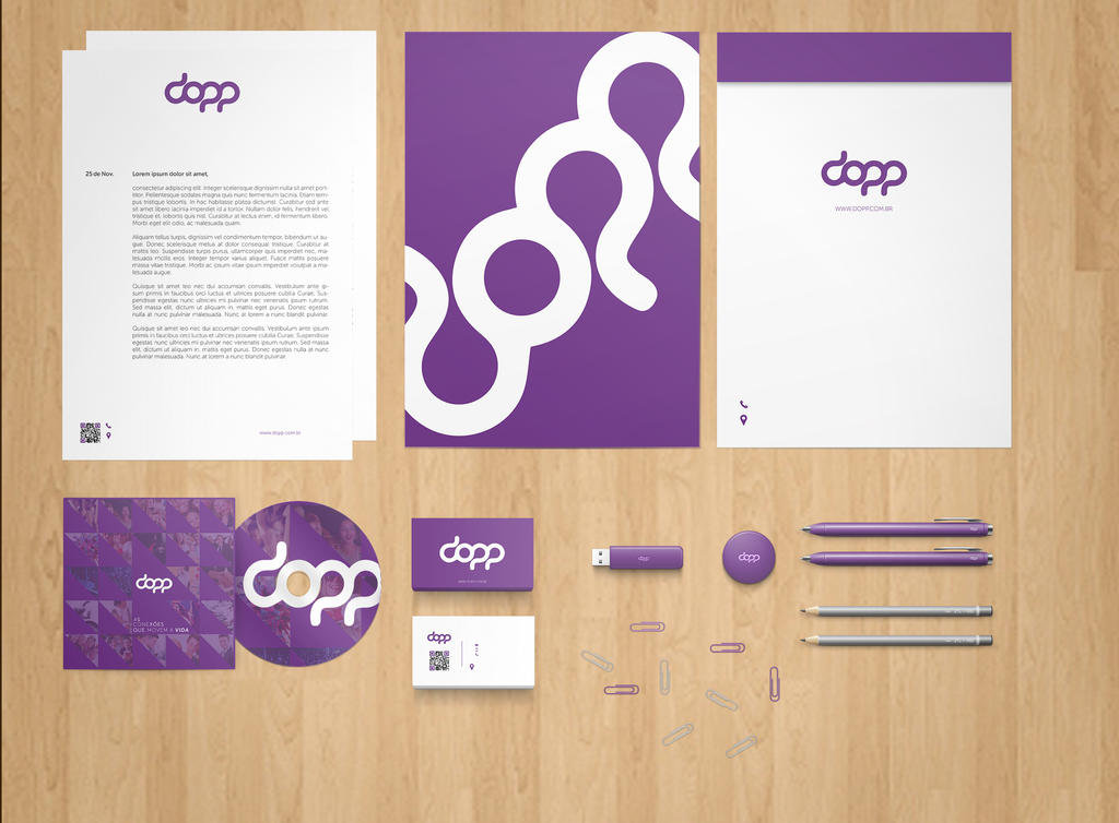 Stationery Branding Mock Up PSD Free By Phfe ...