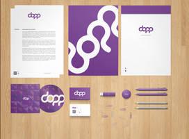 Stationery  Branding Mock-Up PSD Free by phfe