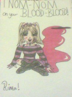 Chibi Rima vampire knight by TakaraYuuki