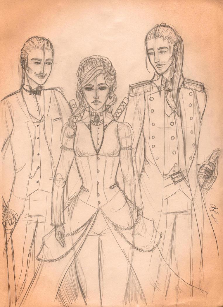 Dead Night: The Three Sassketeers by TakaraYuuki