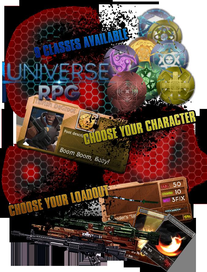 Universe RPG depliant by a0001521