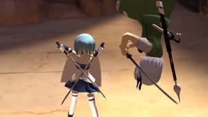 Youmu Sayaka Duel