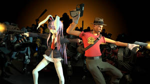 [SFM]Back-to-back Badass - Reisen and Scout