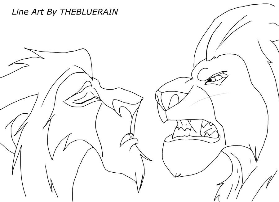 The Line Art Challenge : Is that a challenge line art by thebluerain on deviantart