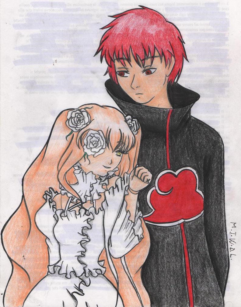 Sasori and Kirakishou by Saphira96