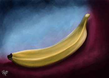 Drawing a Day - Banana Study by SyKoticOrKa