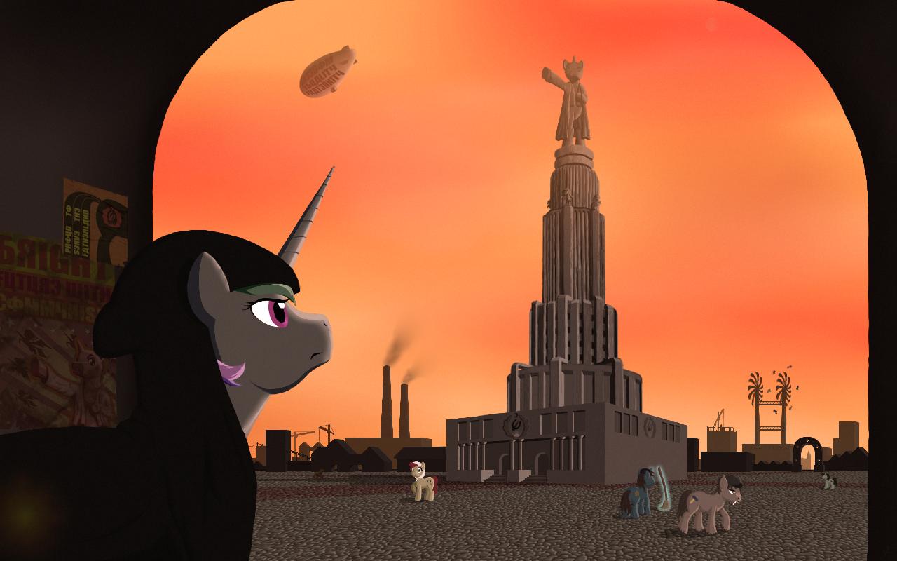Soviet Equestria by grotar00
