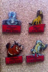 4 Lion King Pins