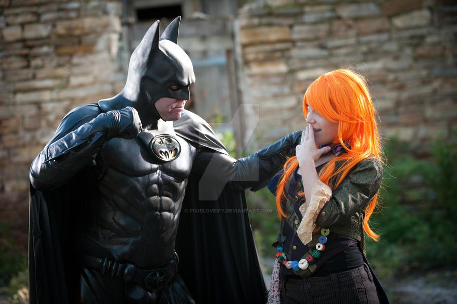 Batman in Wonderland by pixieloveify