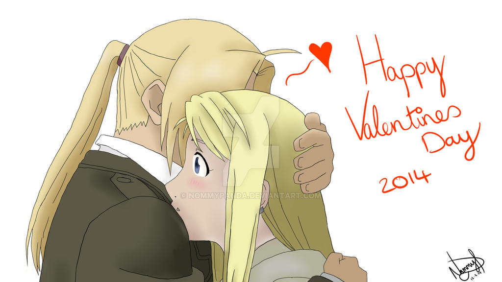 Happy Valentines Day 2014! by NommyPanda