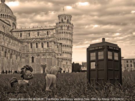 Ponies Around the World III - This is Pisa