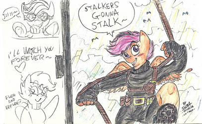 Stalkers gonna Stalk by ShimaFox