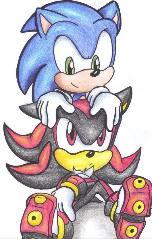 Baby Sonic And Shadow The Hedgehog By Shadicthewerepup On Deviantart