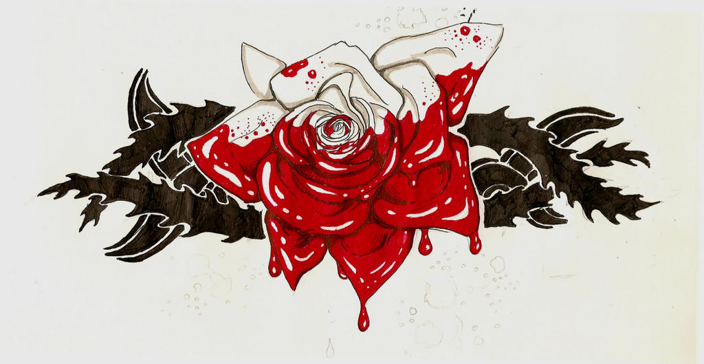 Painting The Roses Red TATTOO By SleepSearcher04 On DeviantArt