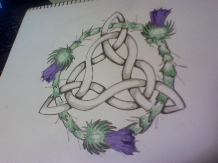 celtic knot tattoo by sleepsearcher04 on deviantart. Black Bedroom Furniture Sets. Home Design Ideas
