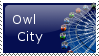 Owl City Stamp by deathshadow7127