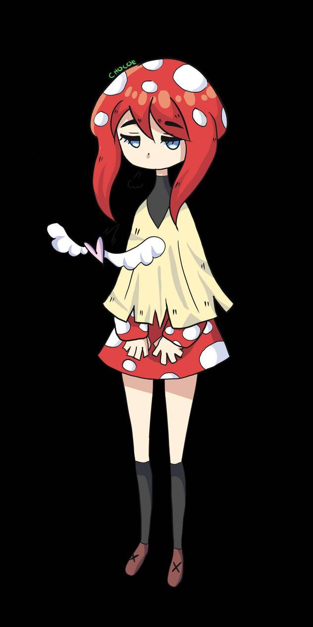 Mushroom Girl by Chocoelats