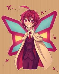 Phantom Thief Butterfly by Chocoelats