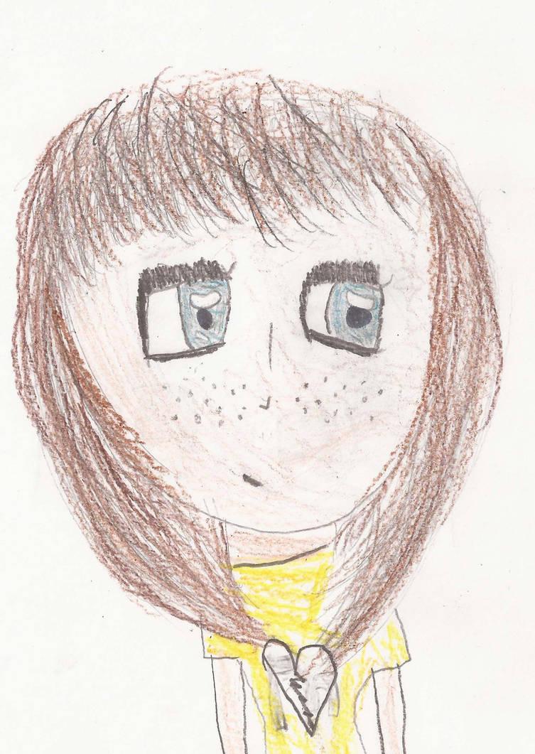 Simple anime Girl by Golden-Artistry on DeviantArt