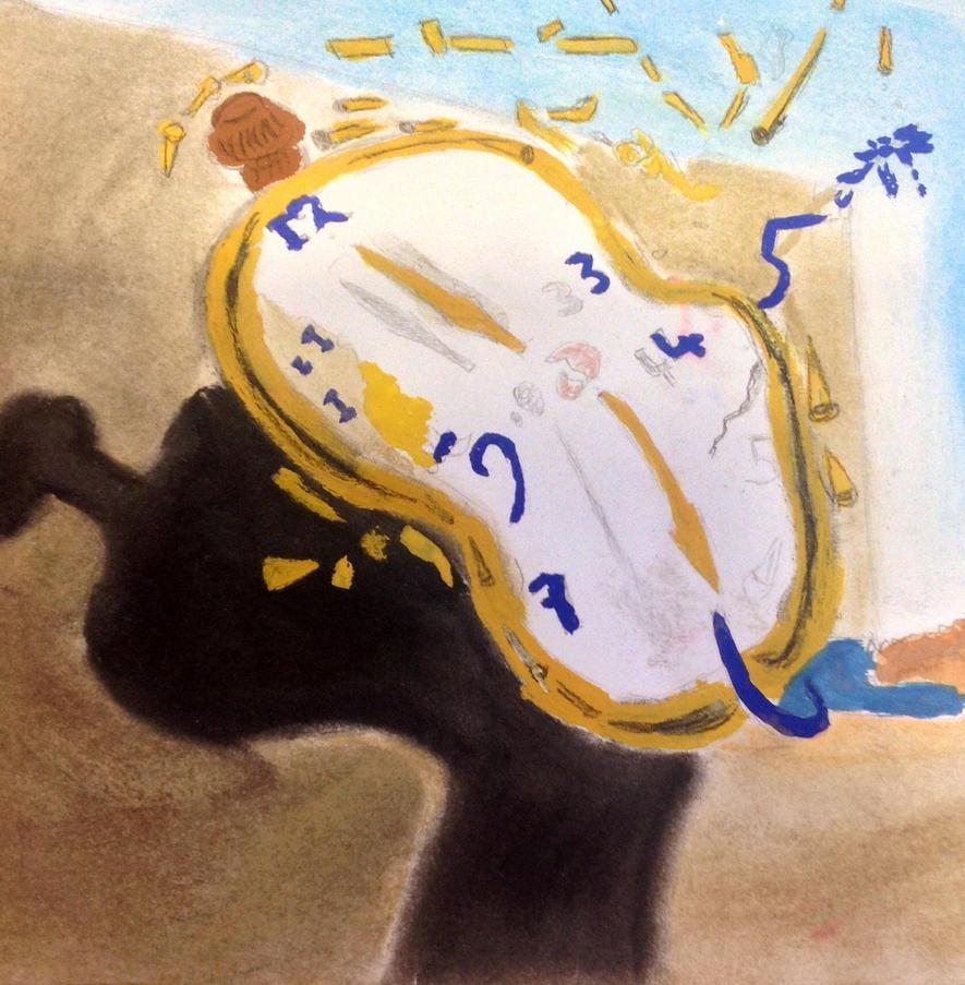 salvador dali paintings clock melting clocks wwwimgkid