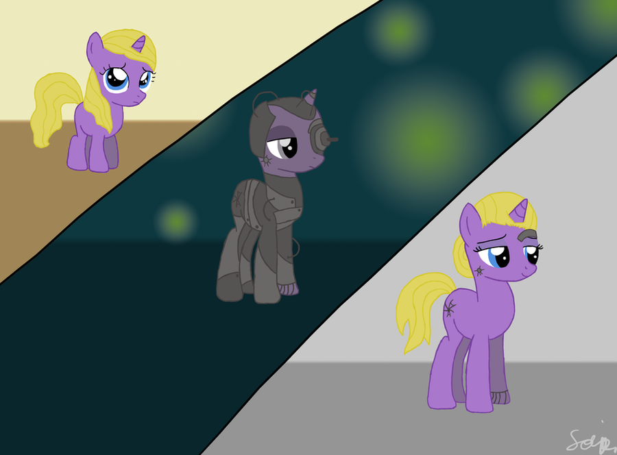 MLP FIM Seven of Nine by Lomise