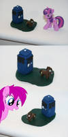 Doctor Whooves mini sculpture