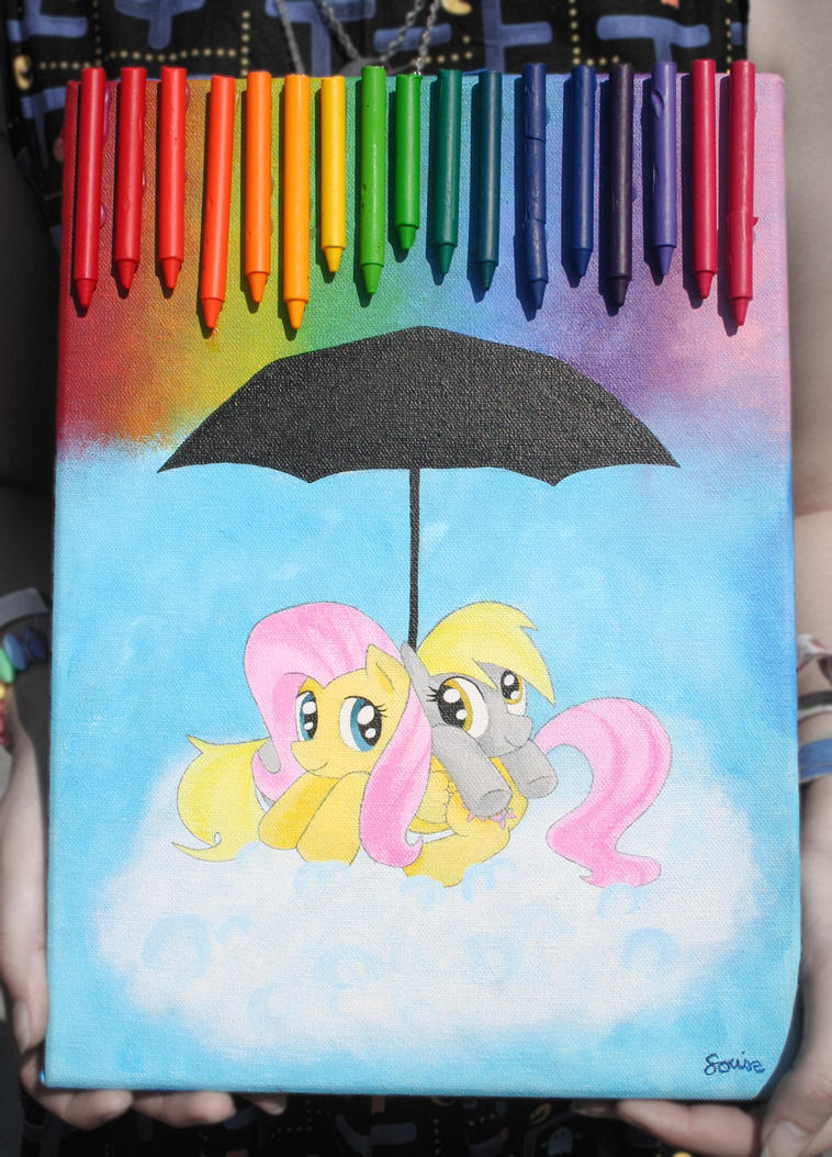 Flutter-Derp under the chalk sky by Lomise