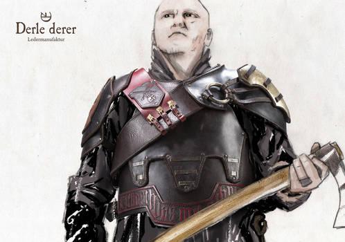 Karos real Mercenary Leather Armor
