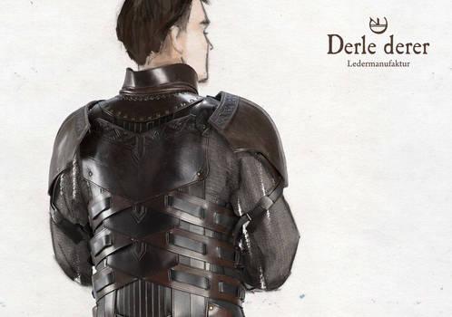 Hauptmann Jorgens leather armor back