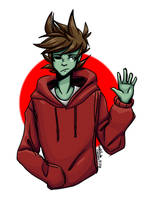 Zombie Tord redraw  by SarahDoodle2005