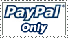 PayPal Only Stamp by pjbatter