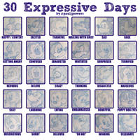 30 Expressive Days - 2018 Mickey Mouse by PaulJPowers