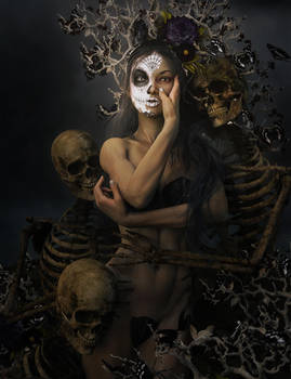 Day of the Dead Girl Fantasy Art