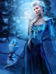 Queen Elsa, Fantasy Fan-Art