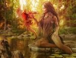 Lady of the Lake, Fantasy Art