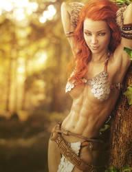 Sexy Red Sonja, Fantasy Fan-Art