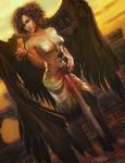 Kitten!, Fantasy Angel Woman Art, Daz Studio Iray