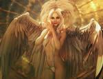 White Angel, Fantasy Woman 3D-Art, Daz Studio Iray