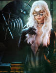 The Heist, Black Cat Marvel Fantasy Woman Fan-Art by shibashake